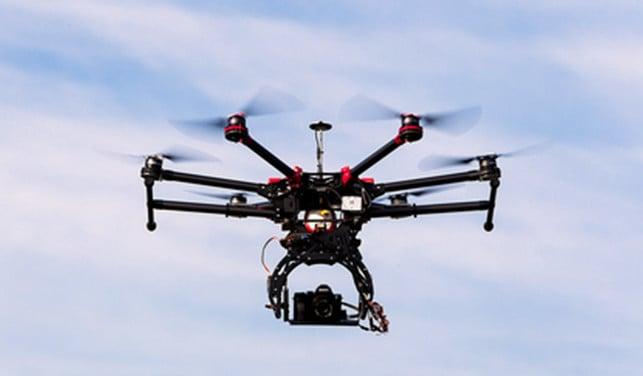 drone survellance london